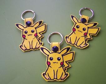 Pikachu Key Fob/Key Ring