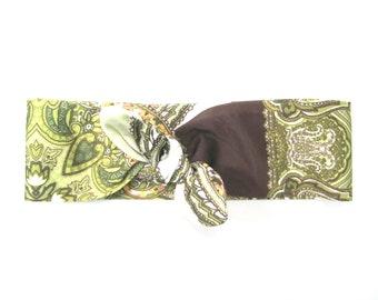 Dolly Bow Headband, Bandana Headband, Wire Headband, Hair Bandana, Retro Headband,Pinup Headband,Gift for Her,Under 20 Dollars,Ready To Ship