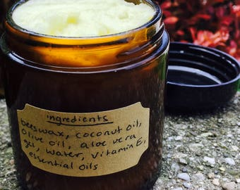 Hand Made, All Natural Body Cream