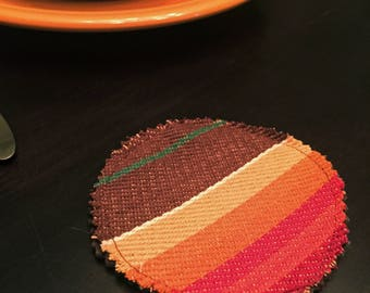 Serape Coasters, Set of 4