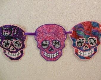 Heirloom Dia de los Muertes / Day of the Dead Banner