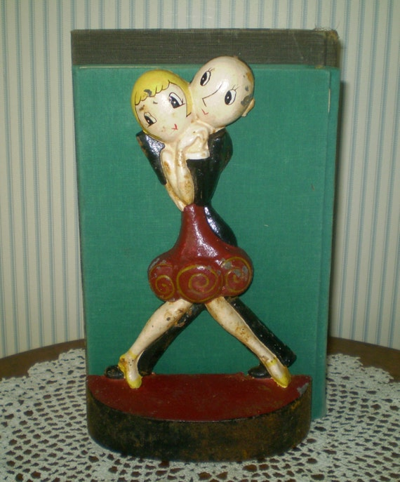 - SALE: Anne Fish Art Deco Charleston Dancers Door