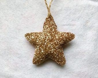 Glitter Star Decoration