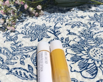 Peppermint & Lavender Lip Balm - Relief for Dry, Chapped Lips - Moisturizing, All Natural Lip Balm - Shea Butter and Essential Oils Lip Balm
