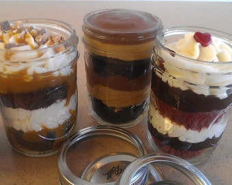 Birthday Gift- Cake In A Jar!