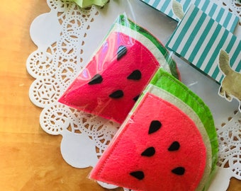 water melon , toys for cats , Felt , catnip, fruits, Les Artistochats