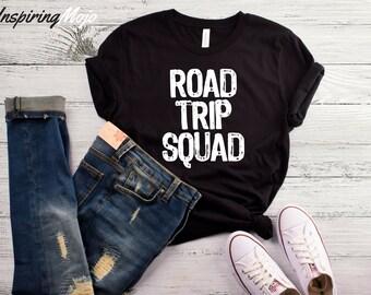 Road Trip Squad T-Shirt, Road Trip Shirt, Squad Shirt, Family Vacation Shirt, Vacation Shirt, Weekend Getaway Shirt, Road Tripping Shirt