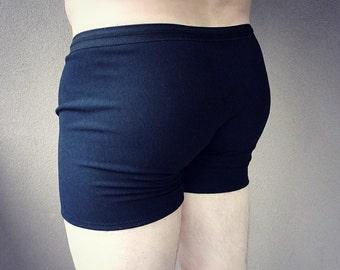 Organic underwear for men, organic bamboo trunks, organic cotton men's briefs, bamboo drawers, handmade underwear for man