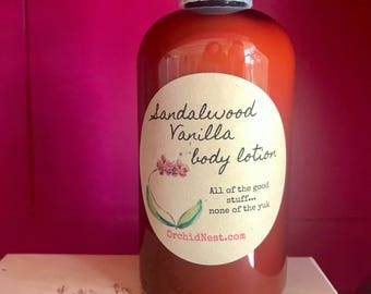Sandalwood Vanilla body lotion