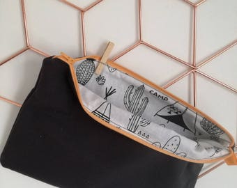 Lined pouch