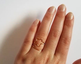 Copper wire, Shooting star ring