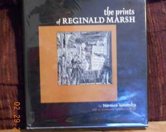 The Prints of Reginald Marsh by Norman Sasowsky- Catalogue Raisonne