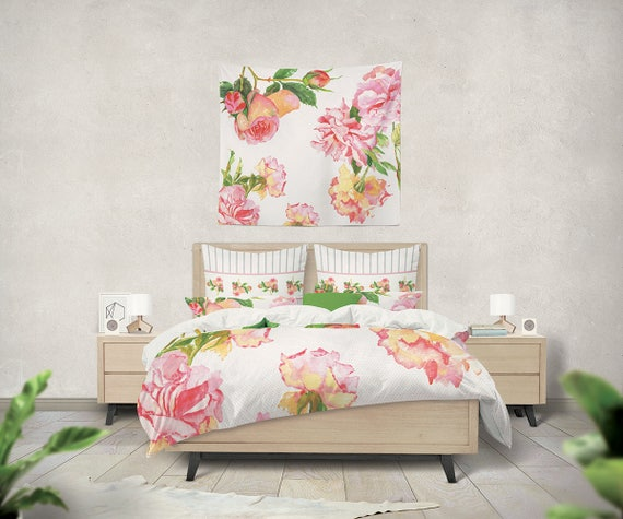 Shabby Chic Teen Bedroom: Shabby Chic Bedding Teen Bedding Shabby Chic Duvet Girls
