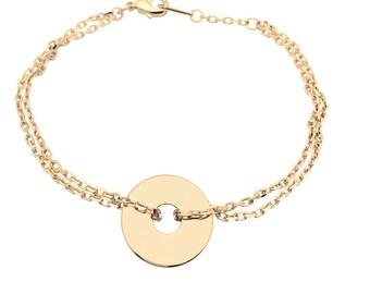Bracelet target on chain