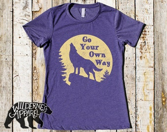 Go Your Own Way Fitted Tee ~ Available In 3 Styles and Vintage  Colors