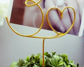 Picture Holder | Table Number Holder | Table Number | Wedding Picture Holder | Table Numbers | Wedding Reception Numbers