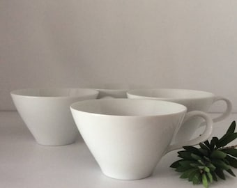 White Bone China Coffee Cup | Noritake | Japan | Vintage