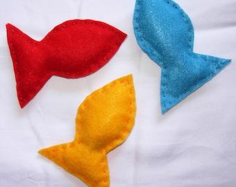 Red, Orange, Blue, soft toys, organic catnip filled, Pet, cat, Kitty, handmade, hand sewn, gift