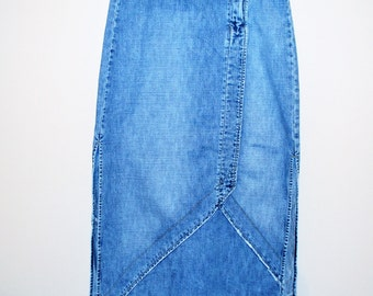 Vintage Denim Skirt Vintage BKE