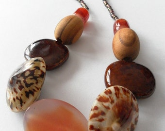 Colors of the Savannah necklace