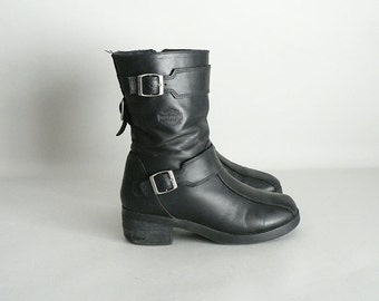 Womens Motorcycle Boots Size 7
