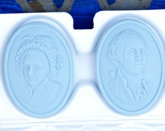 Avon Bicentennial George Washington Soap Dish with Soap - IOB