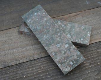 Knife Scales Corian Rosemary Green
