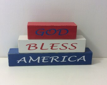 4th of July, holiday decor, Independence Day, shelf sitters
