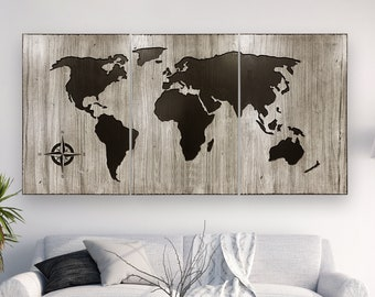 Carved wooden world map wood wall art world map home decor 3d wall art wood wall art world map wall decor above couch gumiabroncs Image collections