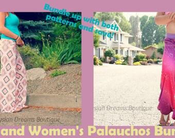 Palaucho's Bundle! Unisex Kid's AND Women's Palaucho PDF Pattern Bundle!