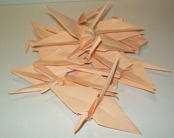 Wedding origami crane decor, Set of 1000  peach origami crane for wedding, wedding decor crane, origami crane, origami peach crane, wedding