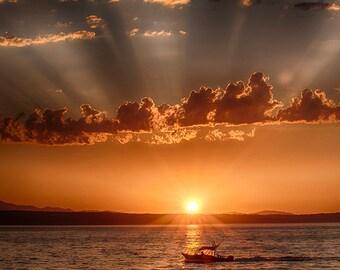 Sunset Photo, Landscape Photography, Nature Photo Sunset