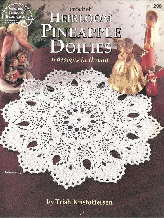 Vintage Crochet PatternsHeirloom Pineapple Doilies