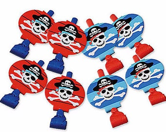 Pirate's Treasure Party Blowouts 8ct