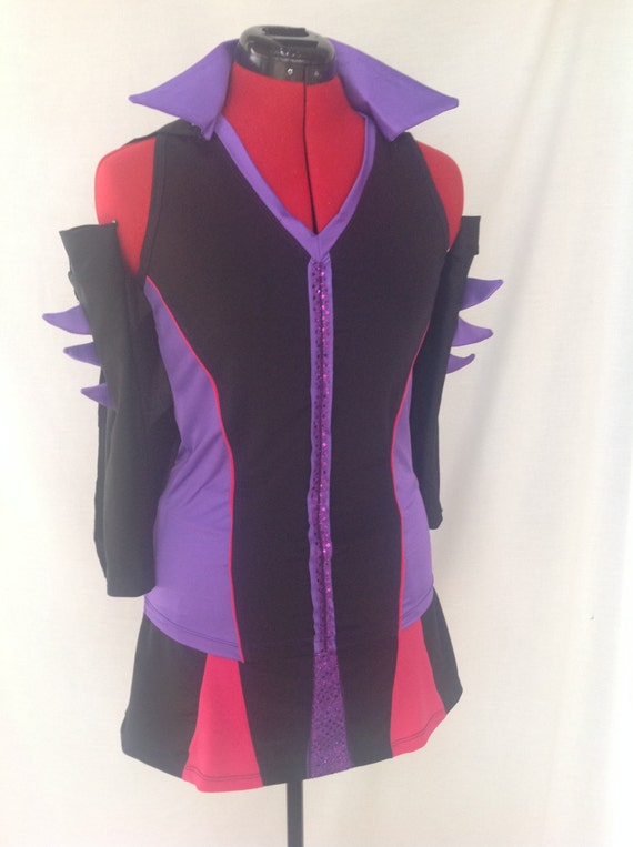 Maleficent Inspired Complete Running Outfit