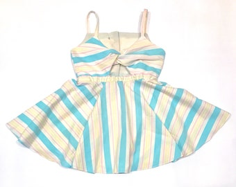 Candy Stripe Gidget Twirl Dress