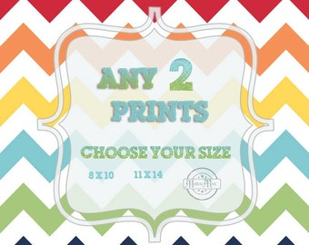 Any Two Prints, POSTERS in Shop, Nursery  Art  Prints.
