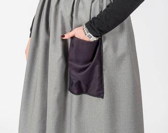 Skirt MoD. SAGE/Light Grey