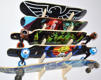 Rado Racks Skateboard Longboard Wall Rack