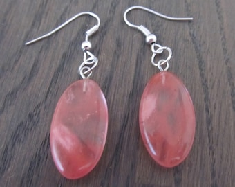 Earrings Watermelon Crystal