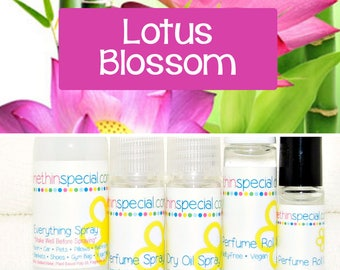Lotus Blossom Perfume, Perfume Spray, Body Spray, Perfume Roll On, Room Spray, Hair Perfume, Dry Oil Spray, Lotus Oil, You Choose a Product