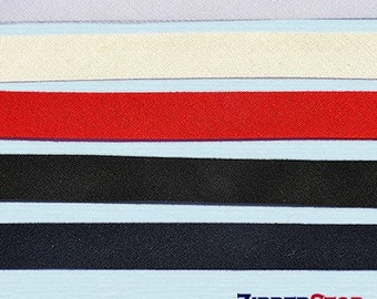 BIAS TAPE- double fold 1/2 INCH Wide - Poly Cotton (Select Color)