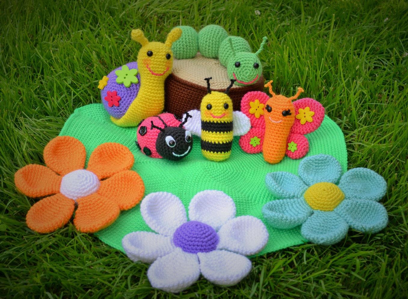 Crochet Amigurumi For Baby : Amigurumi pattern crochet toy pattern crochet amigurumi