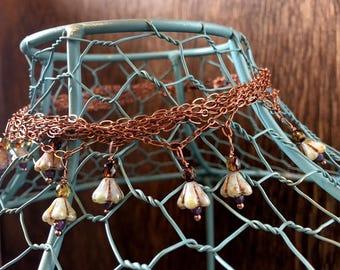 In Bloom Boho Copper Choker