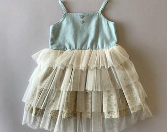 SAMPLE SALE - Daphne Dress in Camellia - Size 4