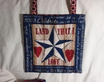 Americana tote - Land that I Love