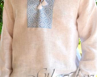 Ukrainian vyshyvanka for mаn, Ukrainian Embroidered Shirt, Ukrainian vyshyvanka, ukrainian clothing