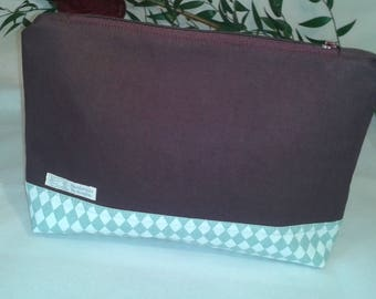 Project bag, cosmetic bag, handmade accessories for the handbag