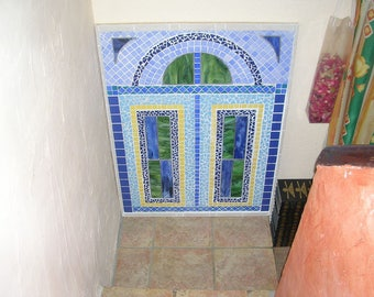 Window on... ceramic-stone-stained glass mosaic