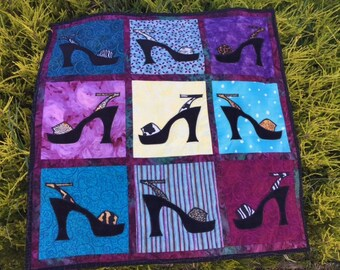 A Walk on the Wild Side Shoe Wall Hanging